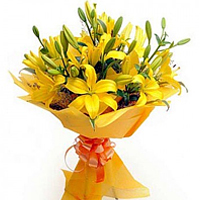 6 Asiatic Lily Bouquet