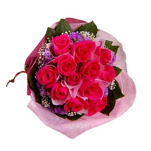 Fragrant Rose Bouquet full of Romance