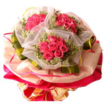 Heavenly Heart of Love Roses Bouquet