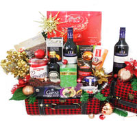 Ravishing Festive Treat Gift Basket<br>