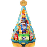 Creative Collection of Tasty Assortment Tower<br>