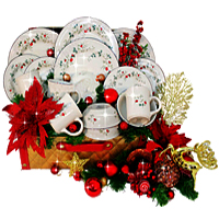 Charming Collection of 16 Pieces Dinner Set