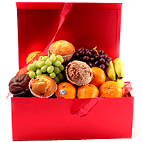 Remarkable Organic Deluxe Treat of Fruit N Muffins <br>