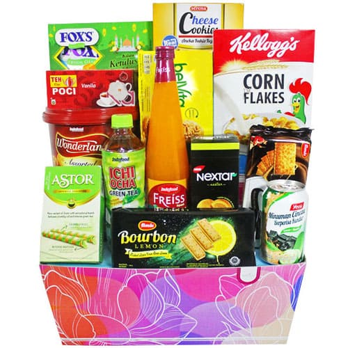 Christmas Surprise Gift Hamper of Gourmet Assortments