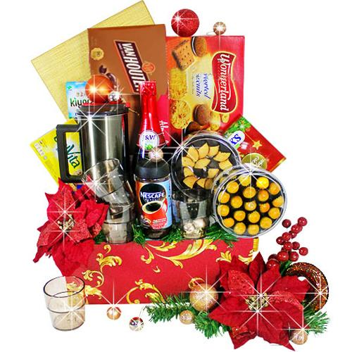 Decadence Hamper of Wine N Assortments