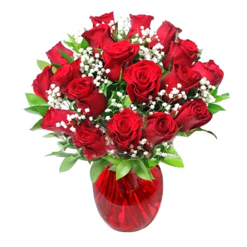 Gorgeous Red Kisses Valentine Bouquet