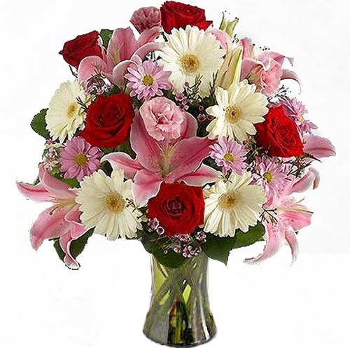Lovely Decorated Bouquet of Flowers, A Cozy Surprise