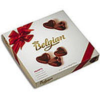 Ravishing Belgian Heart Chocolate