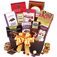 Awesome Christmas Hamper along with Greeting Cards