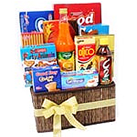 Precious Christmas Basket with Greeting cards