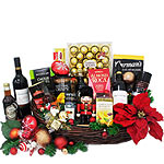 Marvelous Gift Basket of Christmas Holiday