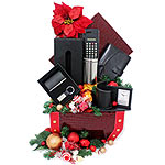 Attractive Christmas Ginger Bell Gift Basket