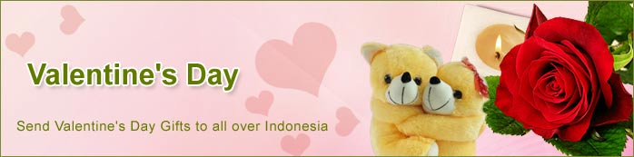 Send Valentine's Gifts to all over Indonesia